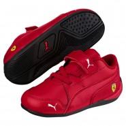Chaussure Puma Scuderia Ferrari Garcon Rouge (105EZYKR)