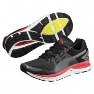 Puma Speed Shoes Mens Asphalt-Black-Flame Scarlet (107KYXHW)