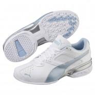 Puma Tazon 6 Training Shoes Womens White-Cerulean-Silver (113GBFKT)