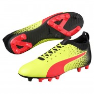 Puma evoKNIT Outdoor Shoes Mens Yellow-Red-Black (130MEXQD)