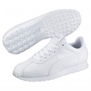 Puma Turin Shoes Mens White-White (131LGJQN)
