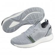 Puma NRGY Neko Training Shoes Womens Quarry-White-Laurel Wreath (132SCIUN)