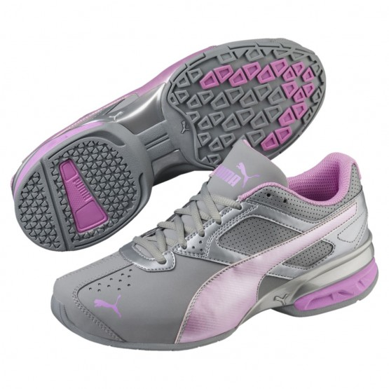 Puma Tazon 6 Training Shoes Womens Quarry-Orchid-Silver (134DTCBE)