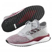 Puma TSUGI SHINSEI Running Shoes Mens Quarry-Tibetan Red-P Black (137NQJFT)