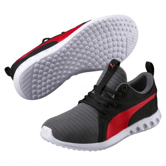 Puma Carson 2 Shoes Boys Quiet Shade-Flame Scarlet (141YJDSF)