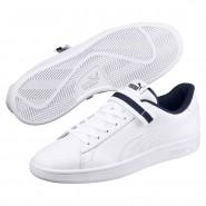 Puma Smash Shoes For Men Navy (142VDBSQ)