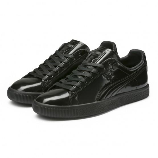 Puma Clyde Shoes Mens Black (152KEPHX)