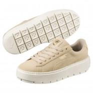 Puma Platform Shoes Womens Safari-Marshmallow (158ATPHF)