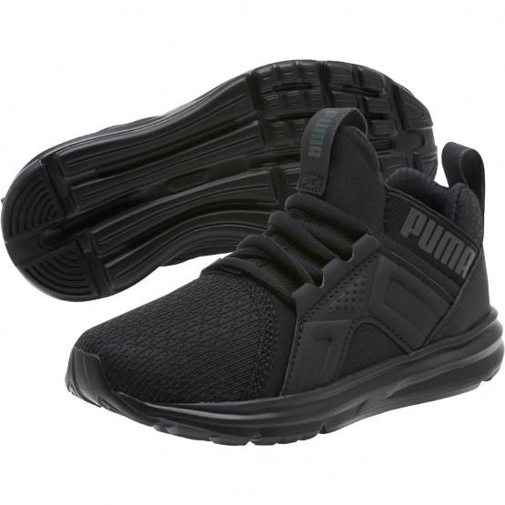 Puma Enzo Shoes Boys Black (161TPMNU)