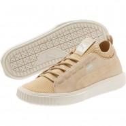 Puma Breaker Shoes Mens Pebble-Whisper White (162ZYIRT)