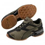 Puma Tazon 6 Shoes Boys Forest Night-Black (164NVJTF)