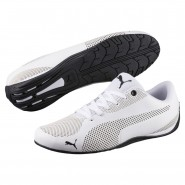 Puma Drift Cat Shoes Mens White-Black (165ZXLAI)