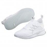 Puma TSUGI JUN Shoes Boys White-White (166UVWPN)