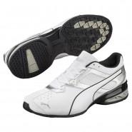 Puma Tazon 6 Shoes Mens White-Silver-Black (171WOUYR)
