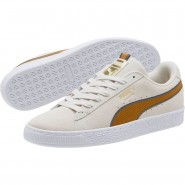 Puma Suede Classic Shoes Mens Gray-Iron Gate-Brown (188FKEZA)