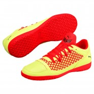 Puma 365 NETFIT CT Indoor Shoes Mens Yellow-Red-Black (191PNEXV)