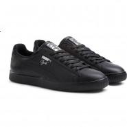 Puma Clyde Shoes Mens Black-Silver (191XHTUQ)
