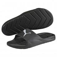 Puma Divecat Sandals Mens Black-White (195OKGLW)
