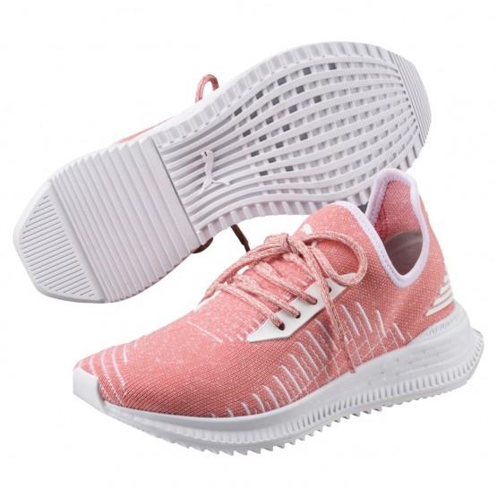 Puma AVID Shoes Womens Shell Pink-White (197QEPXF)
