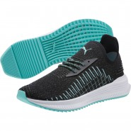 Puma AVID EVOKNIT Shoes Mens Black-Dk Shadow-Diamond Blue (201KWCMN)