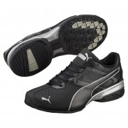Puma Tazon 6 Shoes Mens Black-Silver (215WPKLZ)