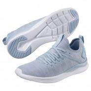Puma IGNITE Flash Running Shoes Womens Cerulean-Quarry-White (219KMXYJ)