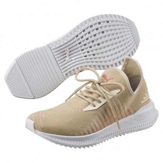 Puma AVID Shoes Mens Pebble-Birch-White (220VBOJD)