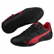 Puma Tune Cat 3 Shoes Boys Black-Ribbon Red (225SUHBX)
