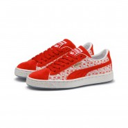 Puma x HELLO KITTY Shoes Girls Bright Red-Bright Red (226XPCVY)