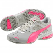Puma Tazon 6 Training Shoes Womens Gray Violet-Knockout Pink (234SRKUE)