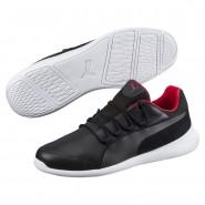 Puma Ferrari Shoes Mens Black-Black-White (236YLIXF)