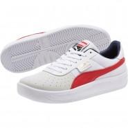 Puma California Shoes Womens P White-Ribbonred-P White (242ZILGQ)