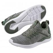 Puma IGNITE Flash Running Shoes Womens Laurel Wreath-Quarry-Green (244MFNBV)