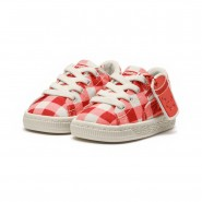 Puma x TINYCOTTONS Shoes Girls Grenadine-Whisper White (246BTFXD)