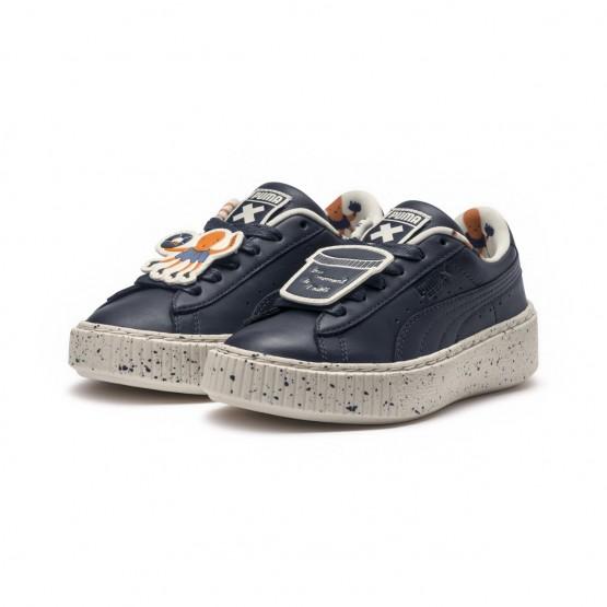 Chaussure Puma x TINYCOTTONS Garcon Blanche (248JAXIL)