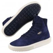 Puma Breaker Hi Evolution Shoes Mens Peacoat-Whisper White (251HDCME)
