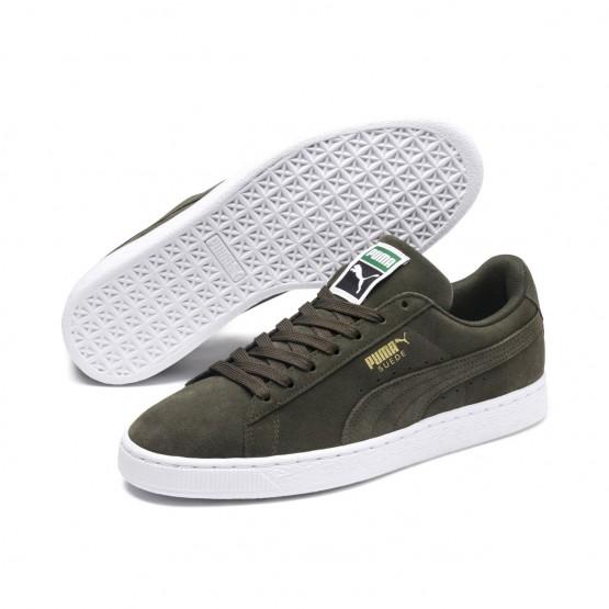Puma Suede Classic Shoes Mens Forest Night-White (253TRUFA)