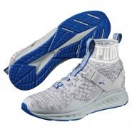 Puma IGNITE evoKNIT Shoes Mens Quarry-Asphalt-Lapis Blue (262BSHCW)