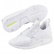 Puma Muse Shoes Womens White-White (269KTWEU)