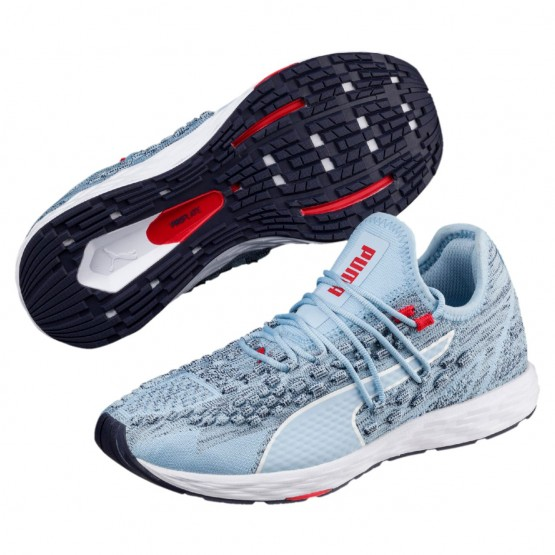 Puma Speed Shoes Womens Cerulean-Peacoat-Ribbon Red (275SGJUL)