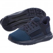 Puma Enzo Shoes Boys Peacoat-Peac-Sargasso Sea (288QOGNM)