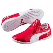 Puma Ferrari Shoes Mens Rosso Corsa-White-White (312IJBEV)
