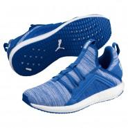 Puma Mega NRGY Shoes Boys Strong Blue-White (313RTFOV)