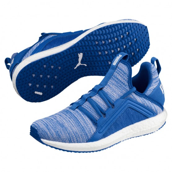 Chaussure Puma Mega NRGY Garcon Bleu/Blanche (313RTFOV)