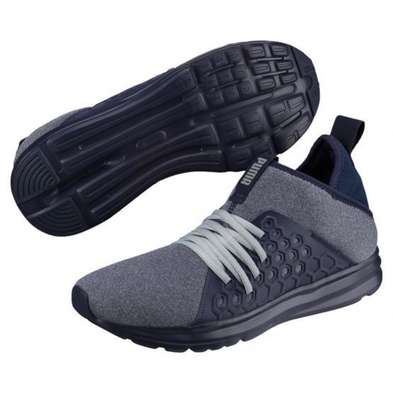 Puma Enzo Running Shoes Mens Peacoat-Quarry (315OXLIQ)