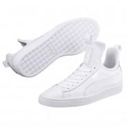 Puma Basket Fierce Shoes Womens White-White (317ZWCIY)