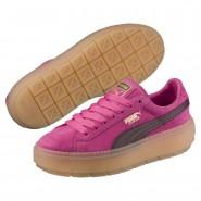 Puma Platform Shoes Womens Carmine Rose-Winetasting (328HZYRE)