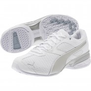 Puma Tazon 6 Shoes Womens White-Silver (337BMKDX)