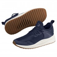 Puma Pacer Next Shoes Boys Peacoat-Peacoat (349LTHMY)