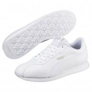 Puma Turin Shoes Mens White-White (350HLJTW)